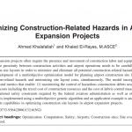 کاهش خطرات مرتبط با ساخت در پروژه های گسترش فرودگاه
