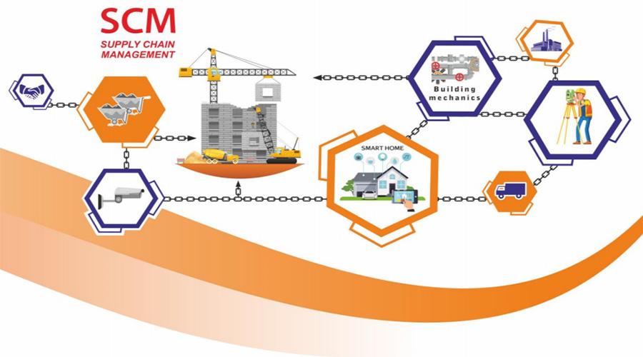 مدیریت زنجیره تامین در ساختمان