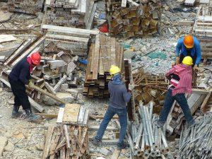 کاهش اتلاف مصالح در کارگاه های ساختمانی