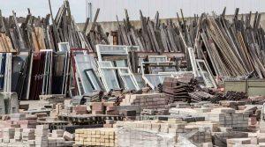 اتلاف مصالح و ضایعات ساختمانی