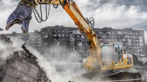 روش صحیح تخریب ساختمان